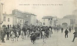 30 - GARD - Gallargues - Arrivée De La Course Sur Le Plan De La Mairie - Gallargues-le-Montueux