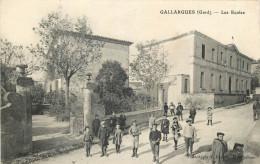 30 - GARD - Gallargues - écoles - Gallargues-le-Montueux