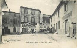 30 - GARD - Gallargues - Place Des Halles - Gallargues-le-Montueux