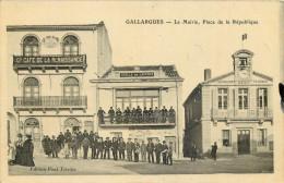 30 - GARD - Gallargues - Mairie - Place De La République - Gallargues-le-Montueux