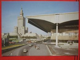 Warszawa / Warschau - Palac Kultury I Nauki, Obok Dworzec Centralny - Polonia