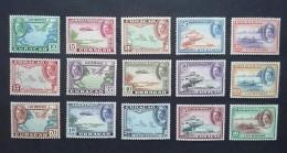 Curacao / Nederland 1942 Luchtpost  (LP 26 T/m LP 40) -  Postfris - Curaçao, Nederlandse Antillen, Aruba