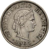 Suisse, 10 Rappen, 1965, Bern, TTB+, Copper-nickel, KM:27 - Suiza