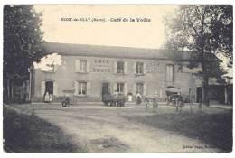 Cpa Mont De Billy - Café De La Voûte - France