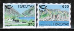 EUROPEAN IDEAS 1991 FO MI 219-20 FAROE ISLANDS - Europese Gedachte