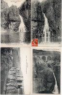 LE PUY MARY - 4 CPA - Chateau Du Sailhans - Cascade Du Sailland (Sailhans, Saillant)   (88636) - Non Classés