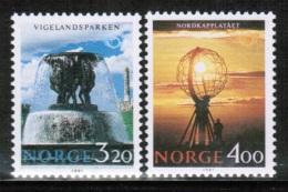 EUROPEAN IDEAS 1991 NO MI 1068-69 NORWAY - Europese Gedachte