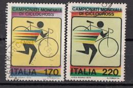 1548 Italia 1979 Ciclismo Campionati Mondiali Di Ciclocross Full Set  Used - Ciclismo