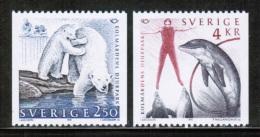 EUROPEAN IDEAS 1991 SE MI 1666-67 SWEDEN - Europese Gedachte