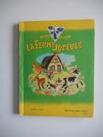 """ANCIEN LIVRE  Animé """" LA FERME JOYEUSE """" 1951 - ANIMATION ENFANTINA - LIVRE Animé, POP UP - Livres, BD, Revues"""