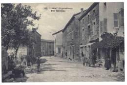 Cpa Condat - Rue Principale - France