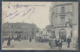 CPA 16 - Cognac, Place François-1er Et Hôtel De Londres - Cognac
