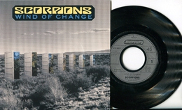 """Scorpions""""45t Vinyle""""Wind Of Change"""" - Hard Rock & Metal"""