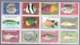 Suriname 2014, Fishes, 12val - Pesci