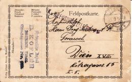 Feldpostkarte Von Der Photografischen Anstalt D.Kofler An Franz Twaroch  - K U.K. Zensurstelle - 1914-18