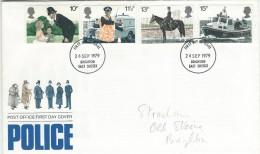 Police  United Kingdom.  Fdc.    # 551 # - Police - Gendarmerie