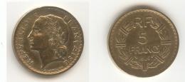 Pièce De 5 Francs  Lavrillier 1946 C - J. 5 Francs