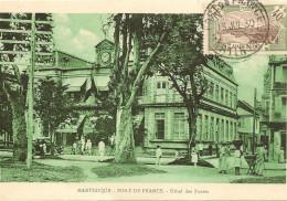 Martinique - Fort De France - Hotel Des Postes - écrite En 1930 - Fort De France