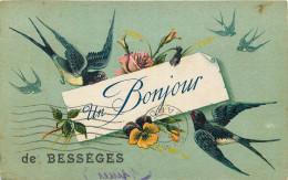 30 - GARD - Bessèges - Bonjour - Bessèges