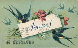 30 - GARD - Bessèges - Amitiés - Bessèges