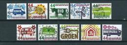 2008 Netherlands Complete Set Think Green,act Green Used/gebruikt/oblitere - Periode 1980-... (Beatrix)