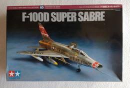 F-100D Super Sabre  1/72   ( Tamiya ) - Airplanes