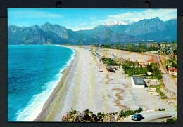 TURKEY  -  Antalya  Konya Beach  Unused Postcard - Turkey