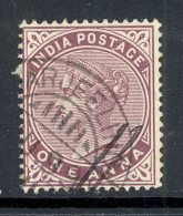 INDIA, Postmark DARJEELING - 1882-1901 Empire