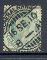INDIA, Postmark GENERAL GANJ - 1882-1901 Empire