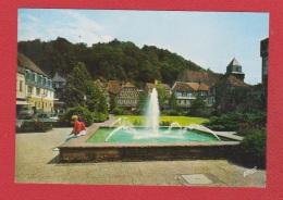 Landstuhl-- Alter Markt Mit Burg Sickingen   --  Ruckseite Beschadig - Landstuhl