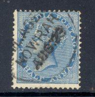 INDIA, Postmark MOWRAH - 1882-1901 Empire