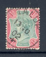 INDIA, Postmark TALUP - 1882-1901 Empire