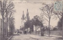 PARIS RUE DE TOLBIAC EGLISE SAINTE ANNE - Eglises