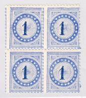 Schweiz Porto Probedruck 1 Auflage 1877 Weisses Papier Ohne WZ Selten Ohne  Stempel (Deville&Cie) 1Rp Typ1  Mittelstein - Taxe