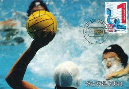 D24037 CARTE MAXIMUM CARD FD 2013 NETHERLANDS - WATERPOLO CP ORIGINAL