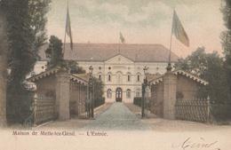CPA Belgique, Maison De Melle-Lez-Gand L'entrée - Melle