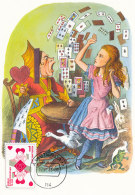 D24040 CARTE MAXIMUM CARD FD 2013 NETHERLANDS - PLAYING CARDS QUEEN OF HEARTS CP ORIGINAL - Unclassified