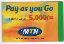 OUGANDA RECHARGE MTN 5,000/= - Uganda