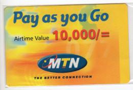 OUGANDA RECHARGE MTN 10,000/=