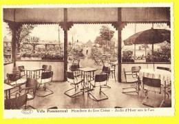 * Pommeroeul - Bernissart (Hainaut - La Wallonie) * (Préaux Ghlin) Hostellerie Du Gros Chene, Jardin D'hiver Vers Parc - Bernissart