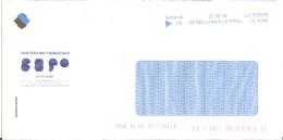Env Illustrée Partenaire Candidature Expo Universelle France 2025 Oblitération Tem'post G4 Gellainville Eure Et Loir - Expositions Universelles
