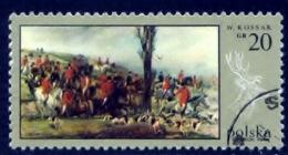 Polen 1968, Polska, Poland, Pologne, Painting, Peinture, W. Kossak, SG 1870, YT 1740, Mi 1890 - 1944-.... Republiek