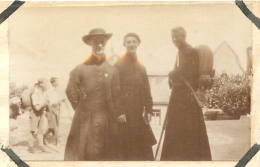 PHOTO SCOUTISME  RAID SPIRITUEL EN BRETAGNE 07/28 AVEC  AUMONIER SCOUT DONCOEUR - Other