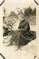 PHOTO SCOUTISME  RAID SPIRITUEL EN BRETAGNE 07/28 AVEC  AUMONIER SCOUT DONCOEUR - Photographs