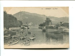 CP-  ANNECY (74) LE PORT - Annecy