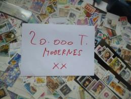 SPLENDIDE VRAC +- 20.000 TIMBRES MODERNES  TOUT EN NEUF XX 99,9% EUROPE !!! A NE PAS MANQUER !!! - Vrac (min 1000 Timbres)