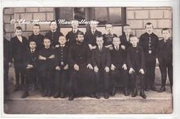 HAUT RHIN 68 - PHOTO DE CLASSE - ECOLE DE GARCONS - CARTE PHOTO - Schools