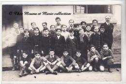 1936 - PHOTO DE CLASSE - ECOLE DE GARCONS - CARTE PHOTO - Schools