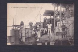 Bateau De Guerre - Cuirasse Condorcet - Passerelle De Navigation ( Animée ) - Guerre