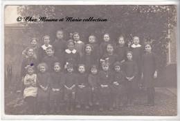 PHOTO DE CLASSE - ECOLE DE FILLES - CARTE PHOTO - Schools